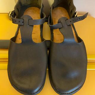 蓮華様専用 オーロラシューズ  ウェストインディアン 8c ブラック (ローファー/革靴)