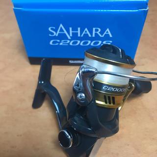 シマノ(SHIMANO)のSAHARA c2000s(リール)