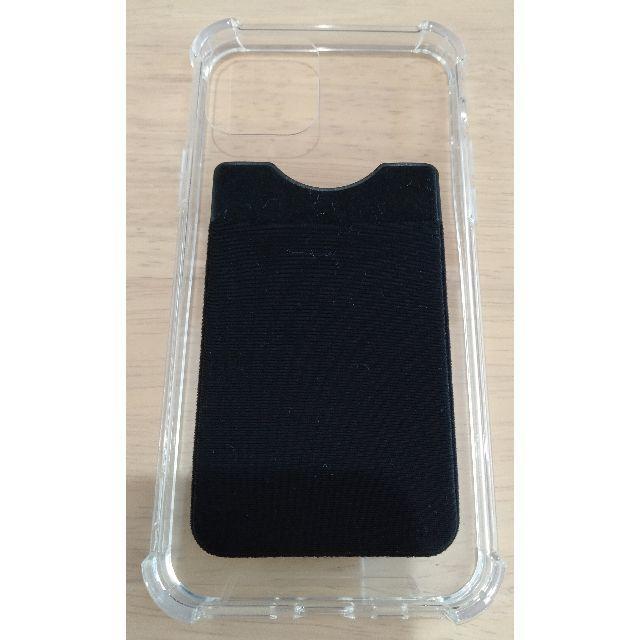 iphone6 カバー ルイヴィトン / iPhone_11_PRO_クリアケース背面ポケット付きの通販 by ぽんじゅに's shop|ラクマ