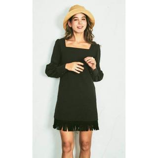 ルームサンマルロクコンテンポラリー(room306 CONTEMPORARY)のinca.インカ dress  of sapphire(ミニワンピース)
