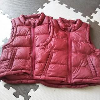 ムジルシリョウヒン(MUJI (無印良品))の無印 ベスト 双子セット(ジャケット/上着)