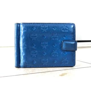 エムシーエム(MCM)のレア MCM 型押し 財布(折り財布)