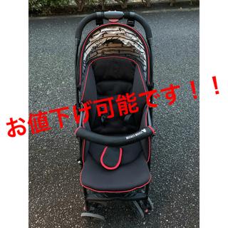 ニシマツヤ(西松屋)のベビーカー A型 ミッキー 西松屋(ベビーカー/バギー)