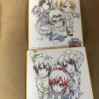 SHIROBAKO 色紙2枚セット(キャラクターグッズ)