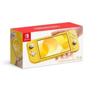 ニンテンドースイッチ(Nintendo Switch)の新品 ニンテンドー スイッチ ライト 本体 Switch Lite イエロ(携帯用ゲーム機本体)