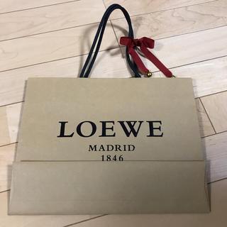 ロエベ(LOEWE)のLOEWE ロエベ 紙袋 ショップ袋(ショップ袋)