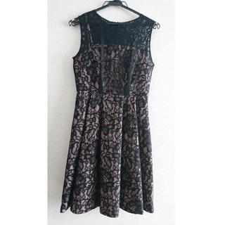 グレースコンチネンタル(GRACE CONTINENTAL)のグレースコンチネンタル ドレス ワンピース(ミディアムドレス)