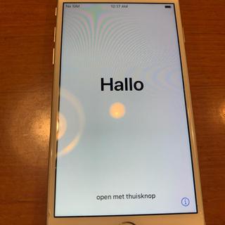 アップル(Apple)のiPhone8 本体 silver 64GB(スマートフォン本体)