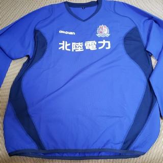 ゴールドウィン(GOLDWIN)のカターレ富山選手用トレーニングウェア(長袖・ブルー・Oサイズ)(ウェア)