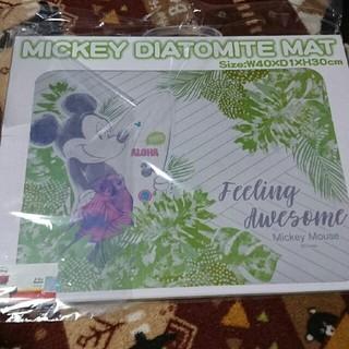 ディズニー(Disney)のミッキー 珪藻土マット  Disney Diatomite Mat  (バスマット)