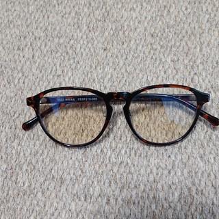 ムジルシリョウヒン(MUJI (無印良品))のよしちゃんマン様専用 無印良品 UVカットメガネ ラウンド(サングラス/メガネ)
