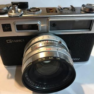 キョウセラ(京セラ)のフィルムカメラ ヤシカ エレクトロ35 GSN 簡易アダプター付属(フィルムカメラ)