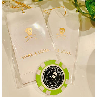 マークアンドロナ(MARK&LONA)のマーク&ロナ マーカーとティーSET(ウエア)