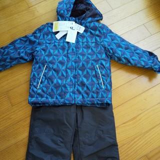 【値下げ】新品★スキーウェア120&手袋(ウエア)