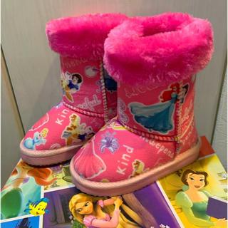 ディズニー(Disney)のプリンセス ムートンブーツ15cm(ブーツ)