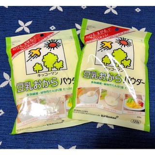 キッコーマン(キッコーマン)の豆乳おからパウダー 2袋(豆腐/豆製品)