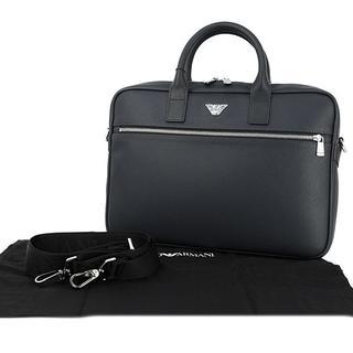 エンポリオアルマーニ(Emporio Armani)の新品 エンポリオアルマーニ ビジネスバッグ ブラック メンズ(ビジネスバッグ)