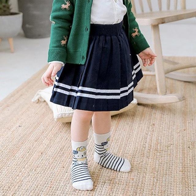 petitNATS❤イラスト風《19〜21cm》〔ca18020-xl〕 キッズ/ベビー/マタニティのこども用ファッション小物(靴下/タイツ)の商品写真