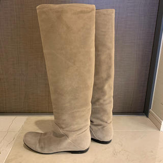ジュゼッペザノッティデザイン(Giuseppe Zanotti Design)のジュゼッペザノッティ スエードロングブーツ(ブーツ)