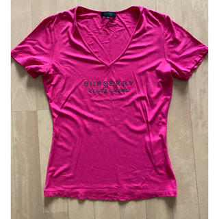 バーバリーブラックレーベル(BURBERRY BLACK LABEL)の美品 バーバリーブラックレーベル 半袖シャツ Tシャツ 40(Tシャツ(半袖/袖なし))