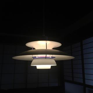 アクタス(ACTUS)のルイスポールセン PH5  プラス ホワイト 美中古(天井照明)