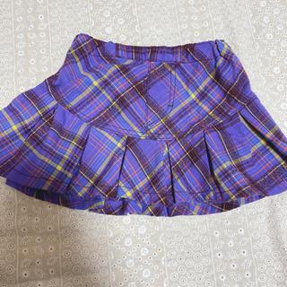 アナスイミニ(ANNA SUI mini)のアナスイミニ チェックスカート 80cm (スカート)