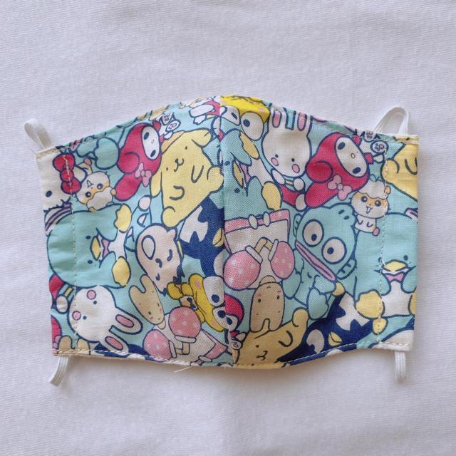 花粉 目 マスク - マスク サンリオ 子供用 立体マスク ハンドメイドの通販
