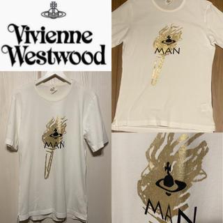 ヴィヴィアンウエストウッド(Vivienne Westwood)の早い者勝ち☆ヴィヴィアンウエストウッド 金箔プリントTシャツ(Tシャツ/カットソー(半袖/袖なし))