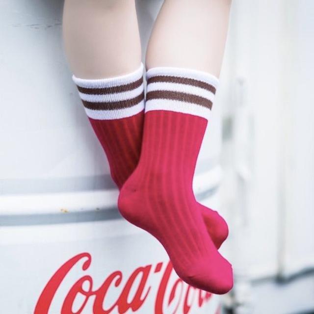 petitNATS❤スポーティガール《17〜19cm》〔tq17060-m〕 キッズ/ベビー/マタニティのこども用ファッション小物(靴下/タイツ)の商品写真