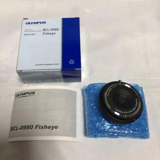 オリンパス(OLYMPUS)のオリンパス フィッシュアイボディーキャップレンズ BCL-0980 ブラック(レンズ(単焦点))