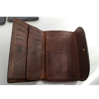 ホワイトハウスコックス(WHITEHOUSE COX)のセトラー 三つ折り財布(折り財布)