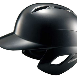 ゼット(ZETT)のZETT(ゼット) 野球 軟式 バッター用 ヘルメット BHL370ブラック L(防具)
