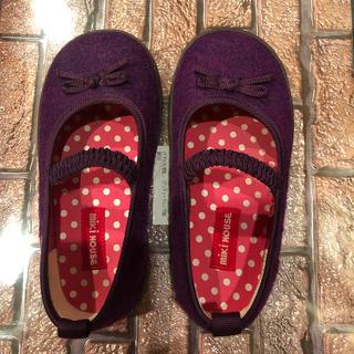 ミキハウス(mikihouse)のミキハウス 女の子靴 17センチ(フォーマルシューズ)
