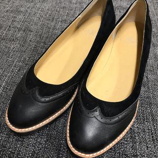 ナンバートゥエンティワン(No. 21)の値下げ【NT★エヌティー】フラットシューズ 24.5cm(ローファー/革靴)