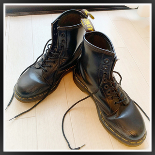 ドクターマーチン(Dr.Martens)の英国製 ドクターマーチン 8ホール 黒 USED(ブーツ)