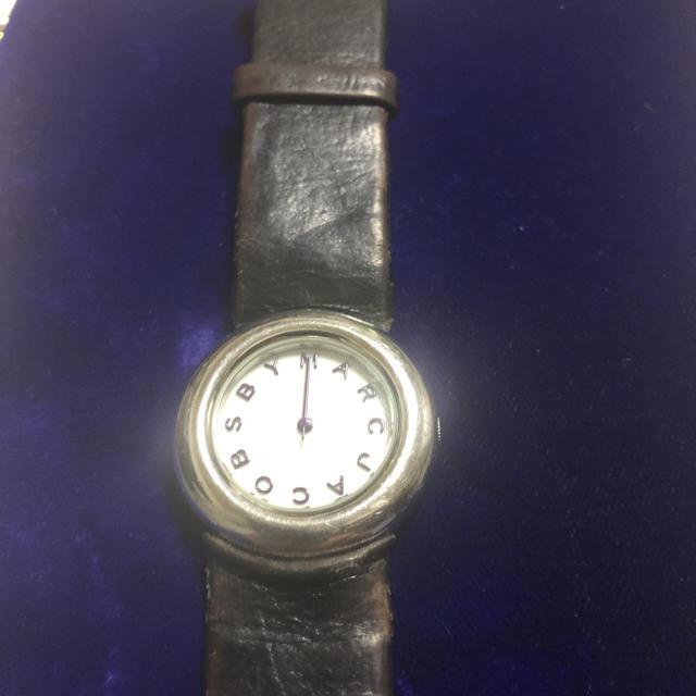 エスエス商会 時計 偽物ヴィトン 、 MARC BY MARC JACOBS - 腕時計 レディース マークジェイコブス   黒の通販