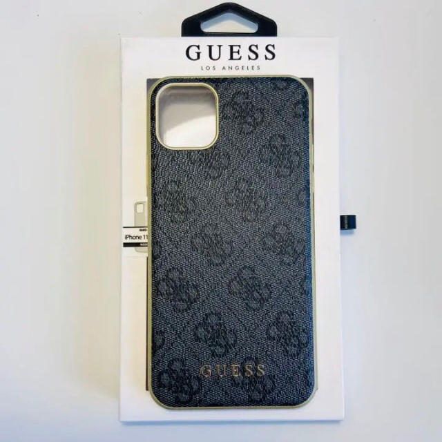 coach iPhone 11 ProMax ケース シリコン | GUESS - 日本未発売 guess ゲス iPhone 11 Pro Max ケース グレーの通販 by KEEZY|ゲスならラクマ