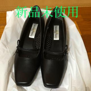ローファー  パンプス  黒  新品(ハイヒール/パンプス)