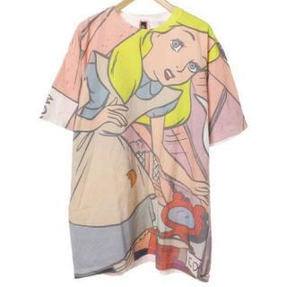 アチャチュムムチャチャ(AHCAHCUM.muchacha)のあちゃちゃむ アリス ビックTシャツ(Tシャツ(半袖/袖なし))
