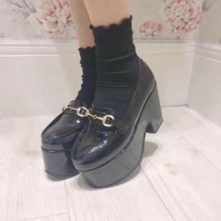 エブリン(evelyn)のevelyn 厚底ビットローファー 靴(ローファー/革靴)