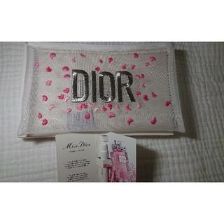 クリスチャンディオール(Christian Dior)の新品 ディオール ポーチ Dior メッシュ ミスディオール ローズ&ローズ(その他)