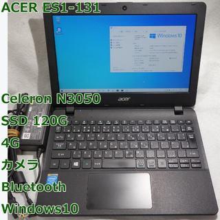 ACER ES1-131◆cel N3050/SSD 120/4G◆Win10