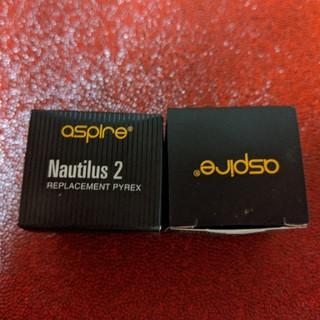 アスパイア(aspire)のaspire Nautilus2 替え ガラスチューブ(タバコグッズ)
