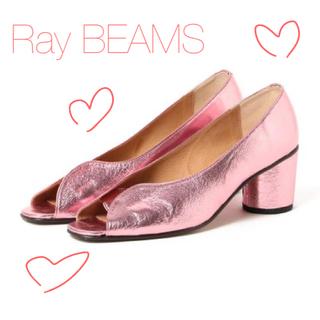 レイビームス(Ray BEAMS)の【中古品】Ray BEAMS / オープントゥ パンプス(ハイヒール/パンプス)