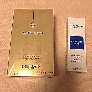 ゲラン(GUERLAIN)のゲラン ミッドナイト シークレット➕ミツコ EDP オーデパルファン 【新品】(香水(女性用))