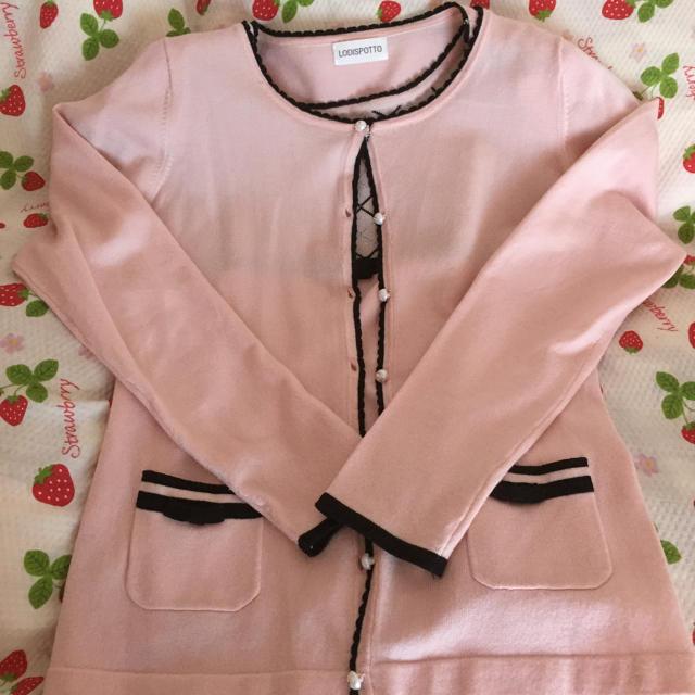 LODISPOTTO(ロディスポット)のピンクのアンサンブル レディースのトップス(アンサンブル)の商品写真