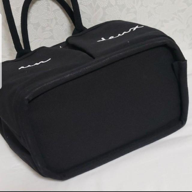 quatre saisons(キャトルセゾン)のキャトルセゾン トートバッグ 美品 ブラック レディースのバッグ(トートバッグ)の商品写真