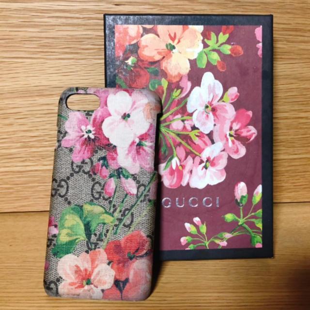 大理石 iphone8 ケース 、 Gucci - GUCCI iPhone8ケース 花柄の通販