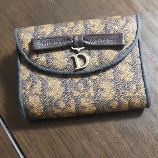 クリスチャンディオール(Christian Dior)のクリスチャンディオール 二つ折り財布(折り財布)