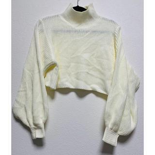 レディースセーター(アイボリー)(ニット/セーター)